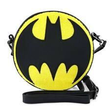 Official Batman Logo Crossbody Bag By Loungefly