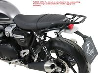 Triumph Speed Twin Rear Rack - Black BY HEPCO AND BECKER (From 2019)