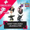 6IV ✨Ultra Shiny✨ Tapu's Koko Lele Bulu And Fini Pokemon Sword Shield