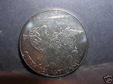 VATICANO Giovanni Paolo II 100 Lire 1985  FDC