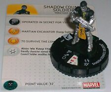 SHADOW COUNCIL SOLDIER #009 Chaos War Marvel Heroclix