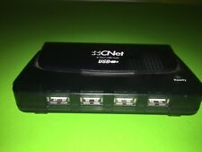 CNET 4-PORT USB HUB *NO POWER CORD INCLUDED