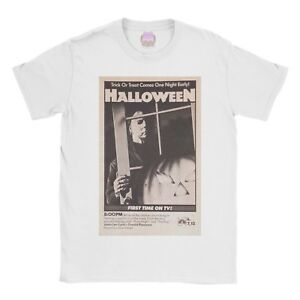 Halloween Vintage t-shirt horror gothic poster movie tshirt tee top old school