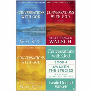 Neale Donald Walsch Conversations with God 4 Books Collection Set Pack Paperback