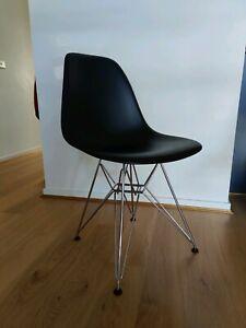Original VITRA Eiffel Tower Eames Chairs - Black