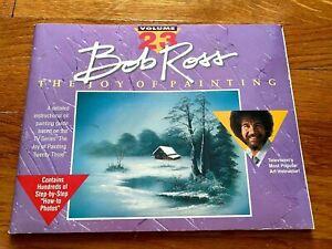 BOB ROSS The Joy of Painting VOLUME 23 Instruction Book 1st Printing 1991