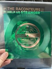 The Raconteurs - Bored And Razed Green Flexi Disc - Includes Help Us Stranger LP