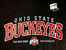Nos Ohio State Buckeyes Black Tee T-Shirt Osu Ncaa Xl Deadstock