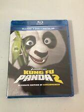 Kung Fu Panda 2 Ultimate Edition of Awesomeness Blu Ray + DVD + Digital NEW