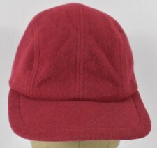 Red GAP Brand Wool Warm Winter Style 5 Panel Style Baseball Hat Cap Fitted