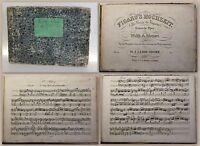 Leidesdorf Mozart Figaro's Hochzeit um 1840 Musik Noten für Pianoforte xz