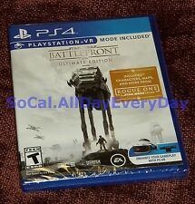 Star Wars Battlefront ULTIMATE Edition (PS4) +Season Pass, 4 Expansions, VR Mode