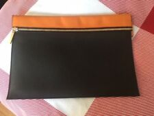 Victoria Beckham Pouch Style Clutch Bag (Calfskin leather)