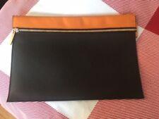 Victoria Beckham Pouch Style Clutch Bag (Calfskin leather)