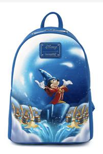 Loungefly Disney 80th Fantasia Mickey Mini Backpack