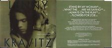 CD SINGLE 4 TITRES EDITION LIMITÉE LENNY KRAVITZ STAND BY MY WOMAN 1991