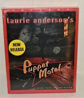 "Laurie Anderson's ""Puppet Motel"" (PC & MAC, 1998) - RARE!!"