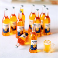 10 X 1/12 Dollhouse Miniature Resin Bottle Simulation wine BottleTEUSJ Pf
