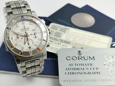 Corum Automatic Admiral's Cup Chronograph Full Set 44x50,5mm