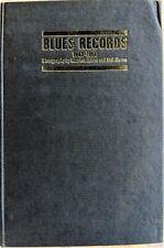 BLUES RECORDS 1943-1966 discography MIKE LEADBITTER-NEIL SLAVEN 1968 UK hardback