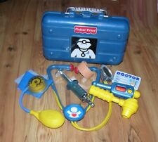 Fisher Price Medical Kit Case Toy Doctor Dr. nurse Boy Girl