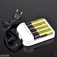 Universal i4 4 Slots Intelligent Li-ion/NiMH 18650/26650/AA/AAA Battery Charger