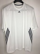 Men's Adidas Polyester White Athletic Pullover Shirt •Size L *EUC