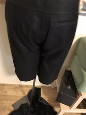 REI Women's Black Multi Pocket Straight Leg Drawstring Leg Hiking Pants Size 12