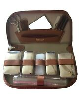 Vintage Noymer Leather Travel Kit Made in West Germany