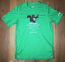 Brooks Men's Small Green Running Jogging Exercise Shirt Raleigh Marathon New