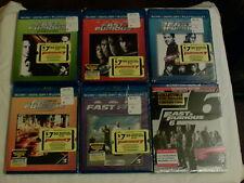 Fast & Furious. 1-7 Blu Ray, 1-6 sealed w/ digital hd! Furious 7  blu ray