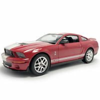 2007 Ford Shelby Cobra GT500 1:24 Model Car Diecast Vehicle Collection Gift Red
