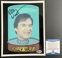 Billy West Autographed Futurama 8x10 Photo Signed Philip J Fry SCIFI Beckett COA