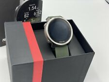 Polar Grit X GPS Running Watch - Green Used A Couple Times