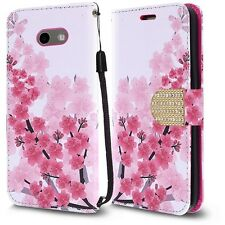 Wallet Cover Phone Case for Samsung Galaxy Mission Eclipse Prime 2 Sol 2 J3 2017