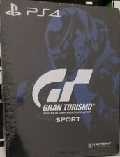 SONY PLAYSTATION 4 GRAN TURISMO GT SPORT STEELBOOK DA COLLEZIONE  NO GIOCO
