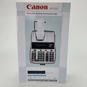 Canon MP25DV Heavy Duty Desktop Printing Calculator