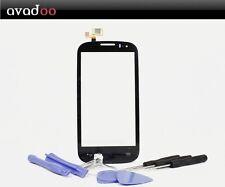 avadoo® Alcatel One Touch POP C5 Displayglas Touchscreen Schwarz + Werkzeugset