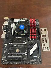 MSI Z97S SLI, (Z97S-SLI-KRAIT-EDITION) Motherboard; Intel i5 4690; 16GB DDR3 RAM