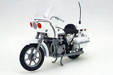 KAWASAKI 1000cc POLICE USA BLANCHE 1/18 MOTORMAX