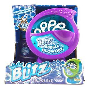 Blitz Bubble Blowout Party Machine With Bubbles