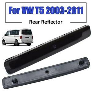 Rear Bumper Reflector Smoked L+R SMOKED For VW T5 Transporter Multivan 2003-2011