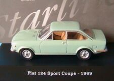 FIAT 124 SPORT COUPE 1969 LIGHT GREEN CHIARO STARLINE 510844 1/43 VERDE GRUN