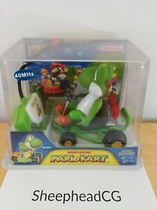Mario Kart 64 Yoshi 2004 R/C Remote Control Car Toy - Brand New & Sealed! N64