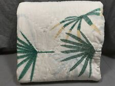 Pottery Barn Kids Justina Blakeney Jungalino Palm Twin Quilt