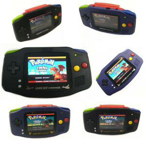 Mix Shell And Colorful Buttons Game Boy Advance Console With AGS-101 Backlit LCD