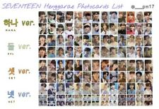 Seventeen 7th Mini Henggarae(Heng:garae) Official Photocards, Bookmarks, PB