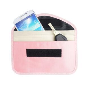 Anti-Tracking RFID Blocker Anti-Radiation Case Bag / RFID Passport Neck Stash
