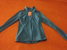 NWT UA S Under Armour Small Women Fitted All Season Gear Jacket Full Zip Blue