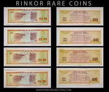 (4) 1979 BANK OF CHINA FOREIGN EXCHANGE CERTS 10 FEN=0,10 YUAN NOTES P-FX1a !